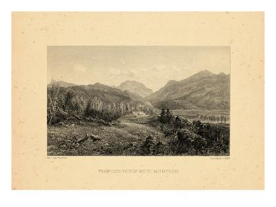 1859, Franconia Notch View, New Hampshire, United States--Giclee Print