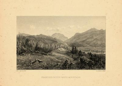 1859, Franconia Notch View, New Hampshire, United States