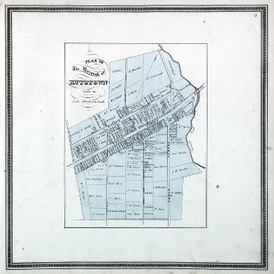 1862, Kutztown, Pennsylvania, United States--Giclee Print
