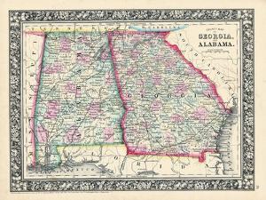 1864, Georgia and Alabama Mitchell Plate, Georgia, United States