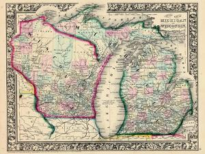 1864, Michigan and Wisconsin, United States