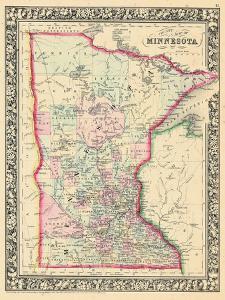 1864, Minnesota 1864 Mitchell Plate, Minnesota, United States