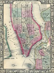 1864, New York, Brooklyn, Manhattan, Jersey City, Hoboken, New Jersey, United States