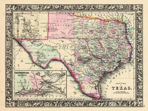 1864, Texas Mitchell Plate, Texas, United States