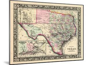 1864, Texas Mitchell Plate, Texas, United States