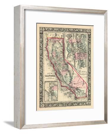 1864, United States, California, Utah, North America, California, Great Salt Lake Country