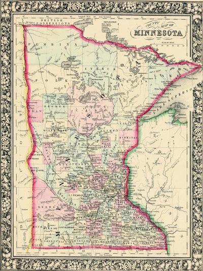 1864, United States, Minnesota, North America, Minnesota--Giclee Print