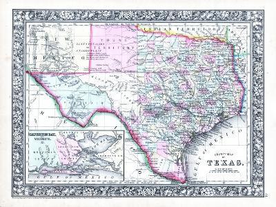 1864, United States, Texas, North America--Giclee Print
