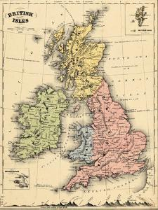 1866, Ireland, England, Scotland, United Kingdom, Wales, British Isles