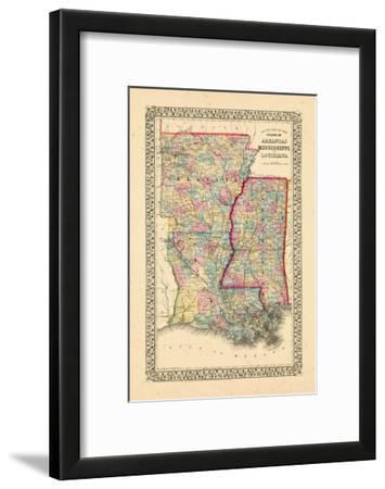 1867, Arkansas, Louisiana, Mississippi