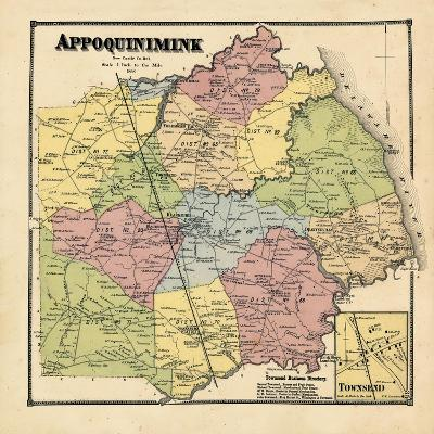 1868, Appoquinimink, Townsend, Delaware, United States--Giclee Print