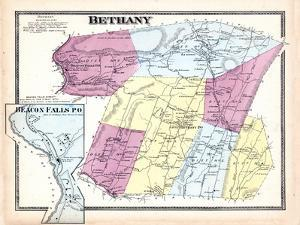 1868, Bethany, Beacon Falls Town, Connecticut, United States