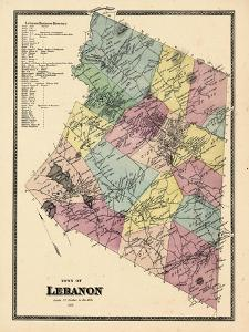 1868, Lebanon Town, Connecticut, United States