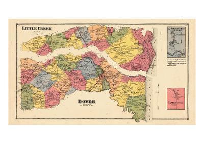1868, Little Creek, Dover, Little Creek Landing, Delaware, United States--Giclee Print