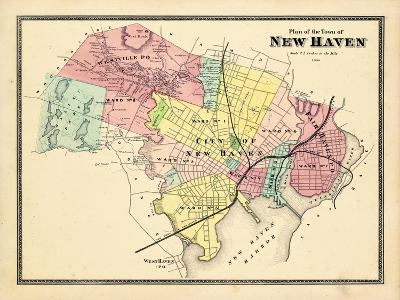 1868, New Haven, Connecticut, United States--Giclee Print
