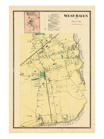 1868, West Haven, Orange Town, Connecticut, United States--Giclee Print