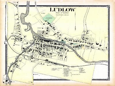 1869, Ludlow Town, Vermont, United States--Giclee Print