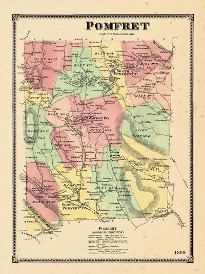 1869, Pomfret, Vermont, United States--Giclee Print