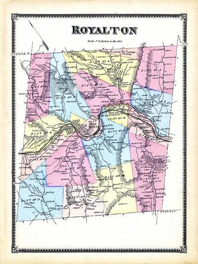1869, Royalton, Vermont, United States--Giclee Print