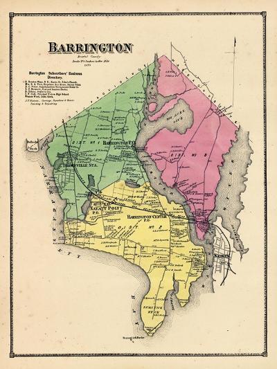 1870, Barrington, Rhode Island, United States--Giclee Print