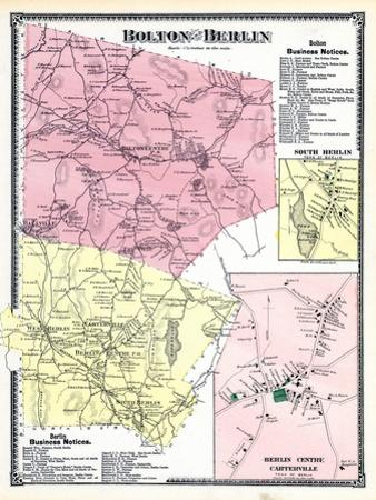 1870, Bolton, Berlin, Berlin Centre, Carterville, Massachusetts, United States