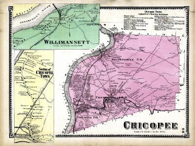 1870, Chicopee, Willimansett, Chicopee Town, Massachusetts, United States--Giclee Print