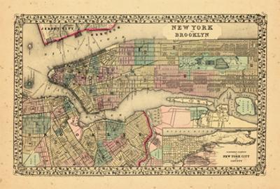1870, New York and Brooklyn