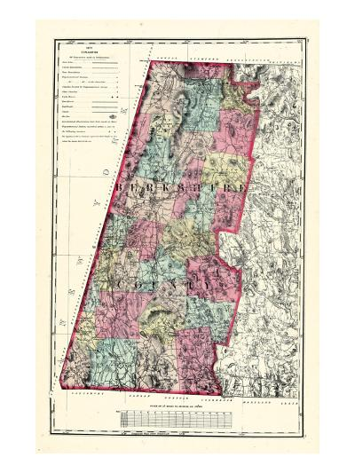 1871, Berkshire County, Massachusetts, United States--Giclee Print
