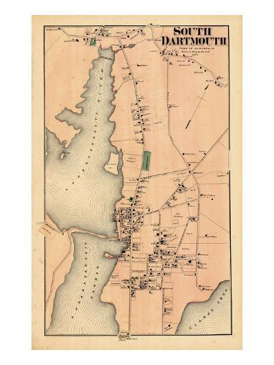 1871, Dartmouth South, South Dartmouth, Massachusetts, United States--Giclee Print