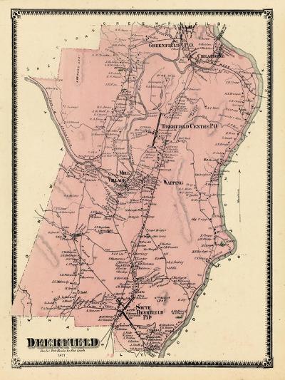 1871, Deerfield, Massachusetts, United States--Giclee Print