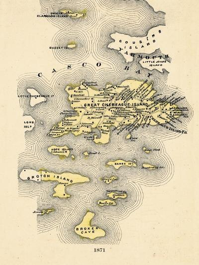 1871, Great Chebeague Island, Maine, United States--Giclee Print