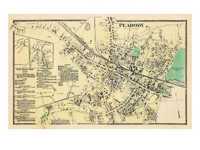 1872, Peabody Center, Massachusetts, United States--Giclee Print