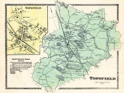 1872, Topsfield, Topsfield Village, Massachusetts, United States