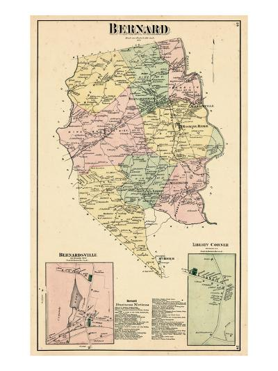 1873, Bernard, Bernardsville, Liberty Corner, New Jersey, United States--Giclee Print