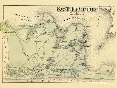 1873, East Hampton, New York, United States--Giclee Print