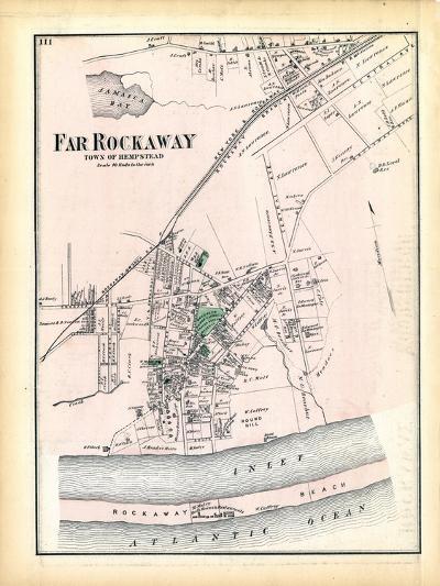 1873, Far Rockaway Town, New York, United States--Giclee Print