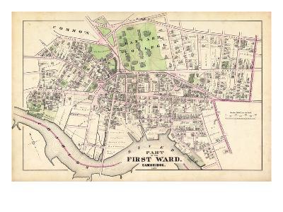 1873, Harvard College, CambridgeMassachusetts, United States--Giclee Print