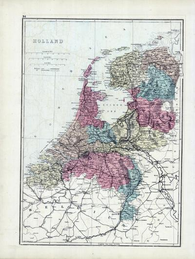 1873, Holland--Giclee Print