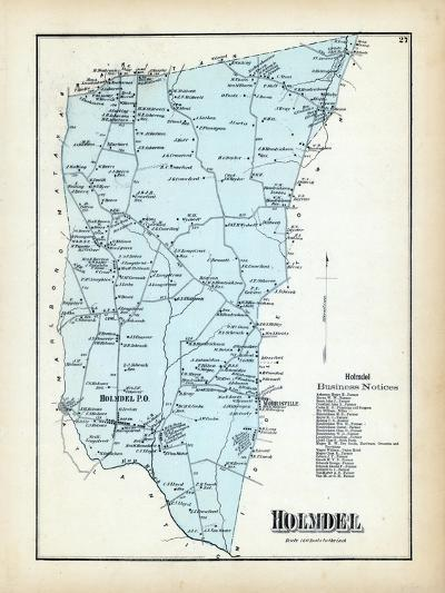 1873, Holmdel Township, New Jersey, United States--Giclee Print