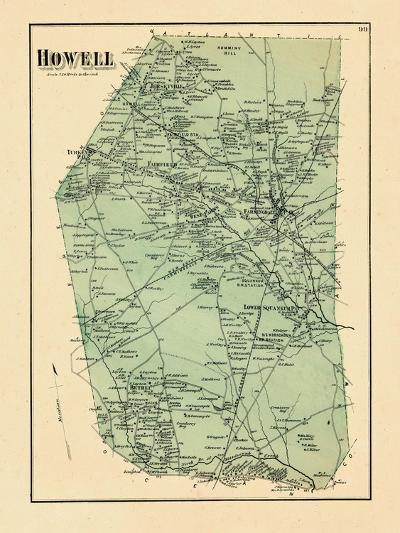 1873, Howell Township, New Jersey, United States--Giclee Print