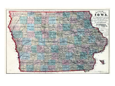 1873, Iowa, United States--Giclee Print