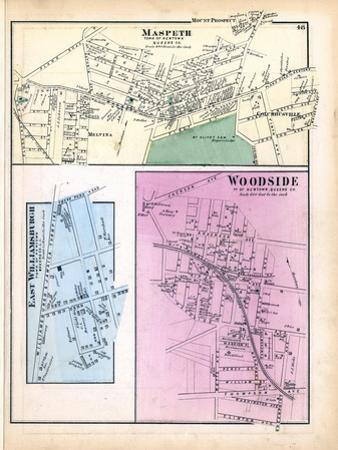 1873, Maspeth Town, Woodside Town, Williamsburgh East Town, New York, United States