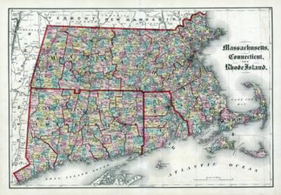 1873, Massachusetts, Connecticut, Rhode Island, USA