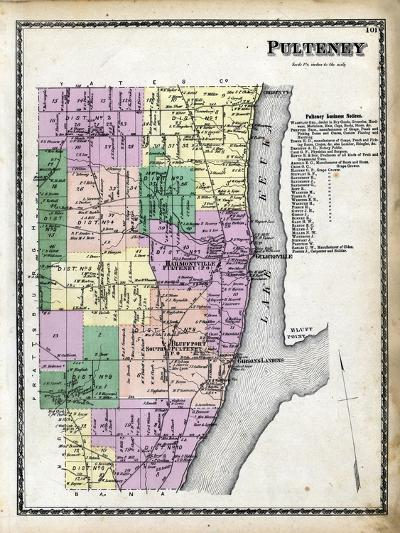 1873, Pulteney, New York, United States--Giclee Print