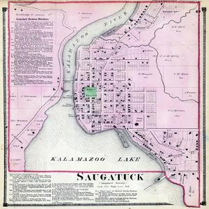 1873, Saugatuck, Kalamazoo River, Michigan, United States