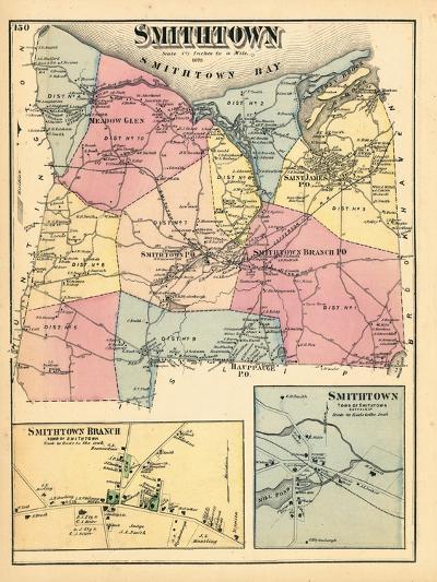 1873, Smithtown Smithtown Branch Town Smithtown Town, New York, United States--Giclee Print