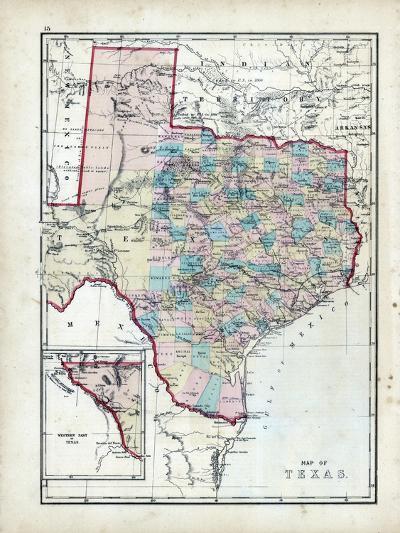 1873, Texas, USA--Giclee Print