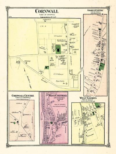 1874, Cornwall, Goshen Center, Connecticut--Giclee Print