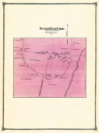 1874, Oyster River Farms, Connecticut, United States--Giclee Print