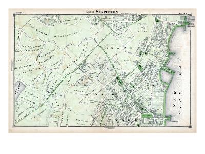 1874, Stapleton, New York, United States, Staten Island--Giclee Print